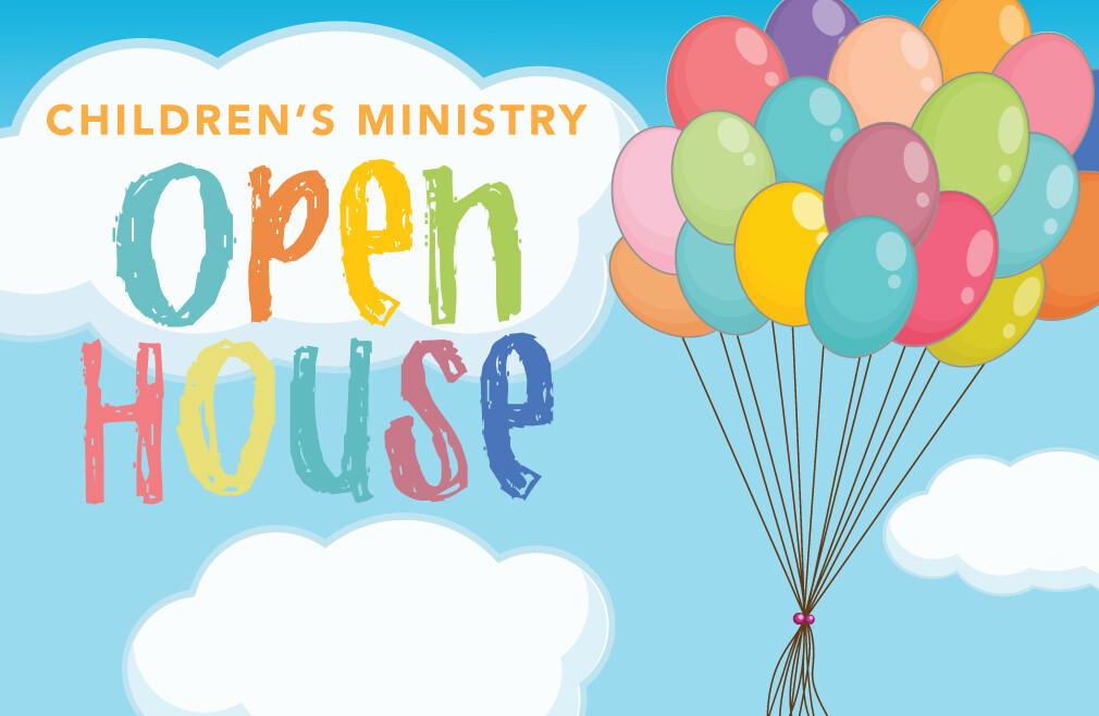 Children's Ministry Open House
